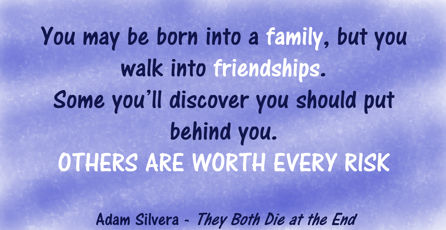 Review They Both Die At The End By Adam Silvera Through The